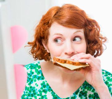 ¿Comer es alimentarse?
