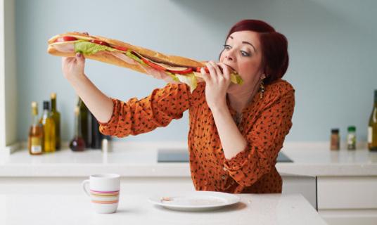 La obsesión por comer