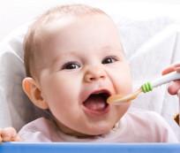 Alimentación en niños de 6 a 12 meses