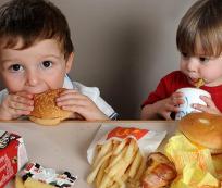 Comida rápida y los niños