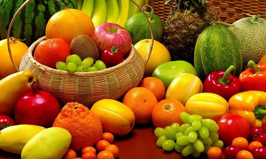 Las frutas y verduras con más azúcar